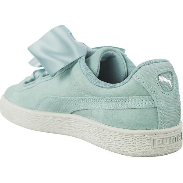 PUMA SUEDE HEART PEBBLE (38,5) Damskie Sneakersy