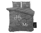 Pościel holenderska Sleeptime Mr And Mrs 3 Anthracite 200x220