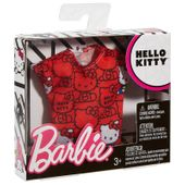 Mattel Barbie Hello Kitty czerwony top