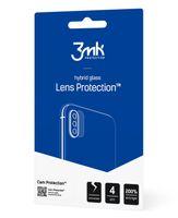 Szkło hybrydowe na obiektyw aparatu 3MK Lens Protection Apple iPhone X [4 PACK]