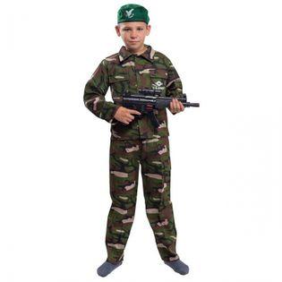 Strój Żołnierz Żołnierza Komandosa Wojskowy Kostium Przebranie dla dzi