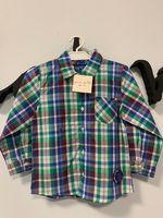 GRAIN DE BLE, Koszula w kratę R. 98 CM, 2-3 LATA 2-3 lata