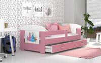 Łóżko FILIP COLOR 160x80 materac + szuflada