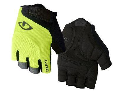 Rękawiczki męskie GIRO BRAVO GEL krótki palec highlight yellow roz. L (obwód dłoni 229-248 mm / dł. dłoni 189-199 mm) (NEW)