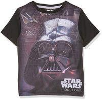 T-Shirt Star Wars Black 6Y r116 Licencja Disney LucasFilm (QE1594)