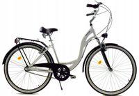 """Rower Dallas City Alu 26"""" 3spd - biały z czarnym"""