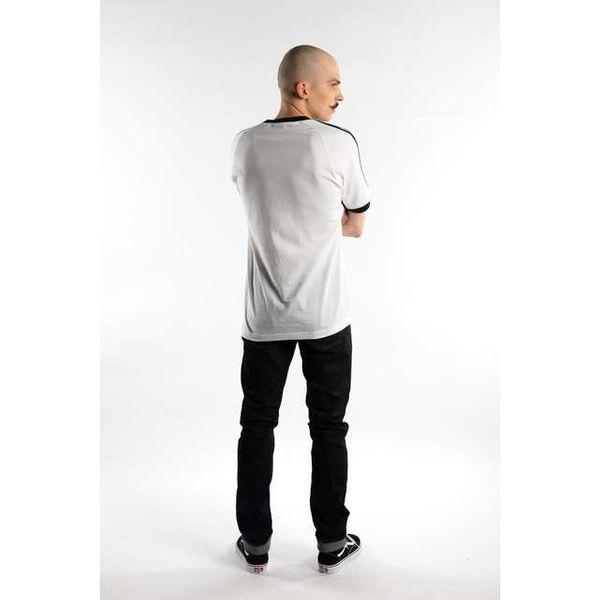 adidas 3 STRIPES TEE 203 WHITE XL zdjęcie 3