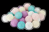 Cotton balls kule świecące LED 30 kul