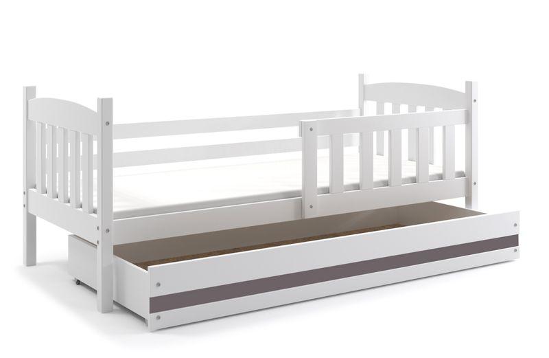 łóżko Dziecięce Kubuś Dla Dzieci 190x80 Barierka