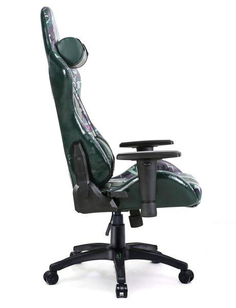 Fields of Battle FOREST CAMOUFLAGE fotel gamingowy Warrior Chairs zdjęcie 4