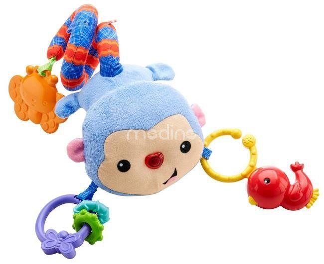 Małpka zawieszka do wózka Fisher Price DFP84 zdjęcie 1
