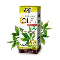 Olej Konopny BIO 50ml 100% Naturalny Etja
