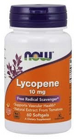 Now -Lycopene - 10 mg -60 kaps