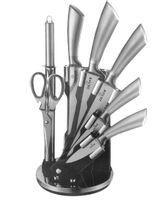 Zestaw Noży Z Tasakiem 8 Ele. Zilner Silver Zl-5113