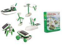 Zabawka Robot Do Skladania Solar Kits 6 W 1