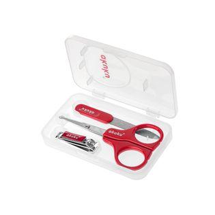 Zestaw do manicure nożyczki, cążki, pilniczek + ETUI