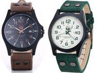 Zegarek męski Soki z datownikiem w trzech kolorach