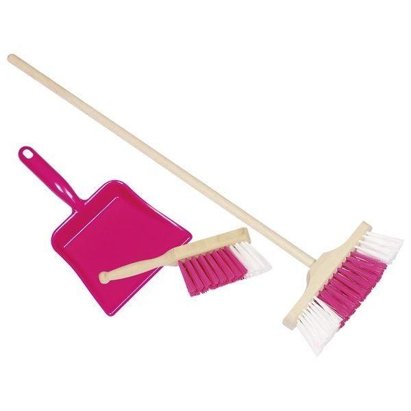 Zestaw do sprzątania różowy zdjęcie 1