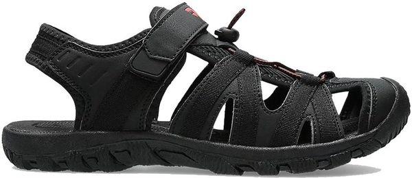 Sandały męskie 4F głęboka czerń H4L20 SAM003 20S 45