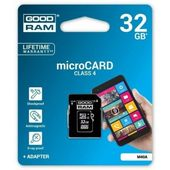 Karta pamięci microSDHC 32GB Goodram 4C + adapter SD