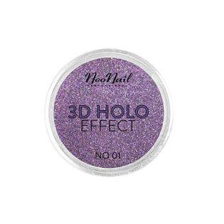 Neonail 3D Holo Effect Pyłek Do Paznokci No. 01 Rose 2G