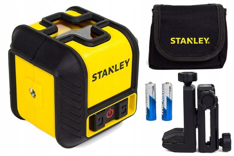 Stanley cubix STHT77498-1 Laser krzyżowy poziomica zdjęcie 1