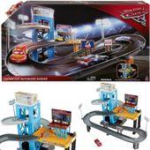 Mattel Tor Auta Disney Cars Mega Garaż tor + autko