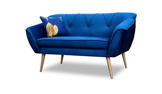 Sofa Skandynawska Glamour na wysokich nóżkach, poduszka Gratis!!
