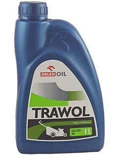 Olej do kosiarek maszyn ogrodniczych Trawol SAE30 1L