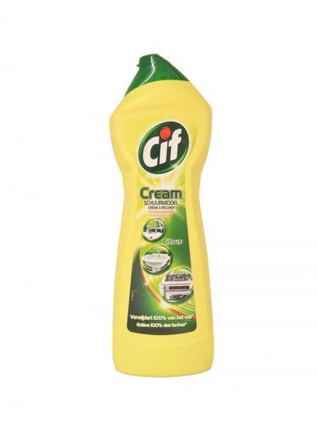 Mleczko do czyszczenia Cif Cream Citrus 750 ml zdjęcie 1