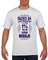 Koszulka męska FACECI S? JAK PODATKI  XL