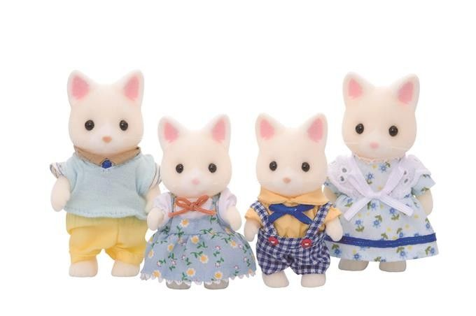 Sylvanian Families Rodzina jedwabistych kotków zdjęcie 1