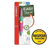 Stabilo Ołówek Easyergo 1.4 dla leworęcznych turkus./różowy