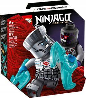 LEGO NINJAGO Zane vs Nindroid zestaw bojowy 71731