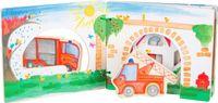 SMALL FOOT Interaktywna książeczka dla dzieci - Straż pożarna