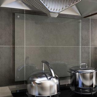 Lumarko Panel ochronny do kuchni, przezroczysty, 70x60 cm, szkło
