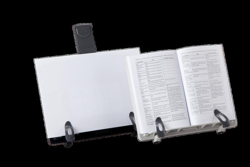 Podstawka pod książkę i dokumenty szara ErgoSafe zdjęcie 4
