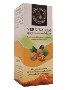 Vernikabon syrop ziołowo miodowy - Bonimed - 100ml