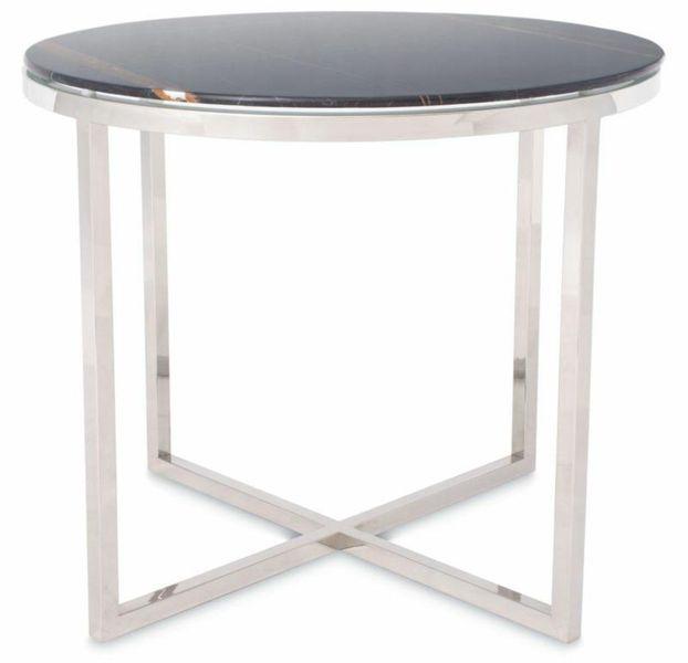 Stolik kawowy ława stół marmurowy szklany blat zdjęcie 2