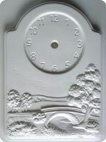 Forma do odlewów - Odlewy gipsowe - Zegar - Młyn (2005107)
