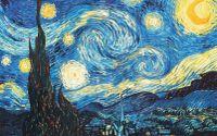 Reprodukcja Van Gogh - Gwiaździsta noc - 60x40cm