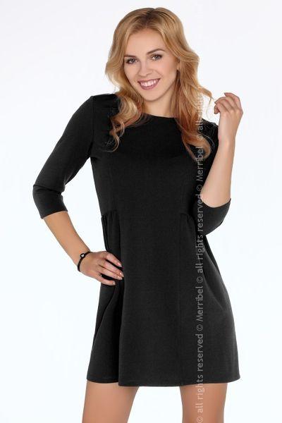 34077af5bba6 Czarna elegancka sukienka mała czarna Merribel L • Arena.pl