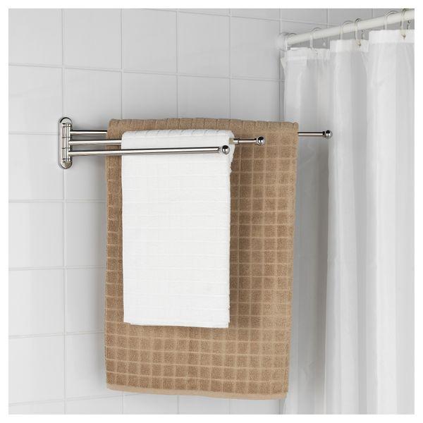 Ikea Voxnan Wieszak Na Ręcznik Efekt Chromowania Arenapl