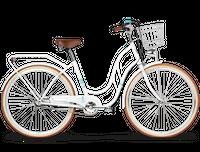 """Rower miejski 28 Kross Le Grand Madison 4 biały mat 18"""""""