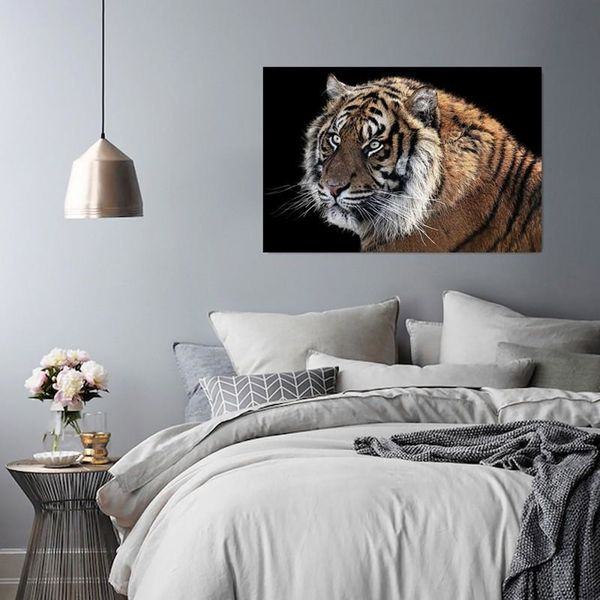 Obraz na płótnie - Canvas, Tygrys 3 120x80 na Arena.pl