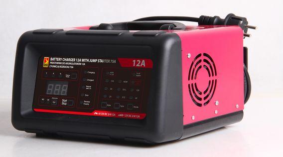 Prostownik Do Akumulatorów Z Mikroprocesorem / Urządzenie Wspomagające Rozruch  75A