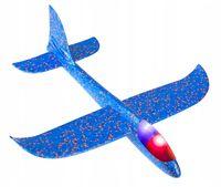 SUPER LEKKI samolot szybowiec styropian LED 48cm