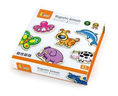 Drewniane magnesy zwierzęta