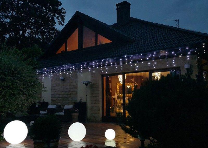 Kurtyna Sople Led 875 M 200 Led Z Błyskiem Zewnętrzne Oświetlenie świąteczne Nr 0235 Wybierz Kolor światła Zimny Biały Błyska Biały