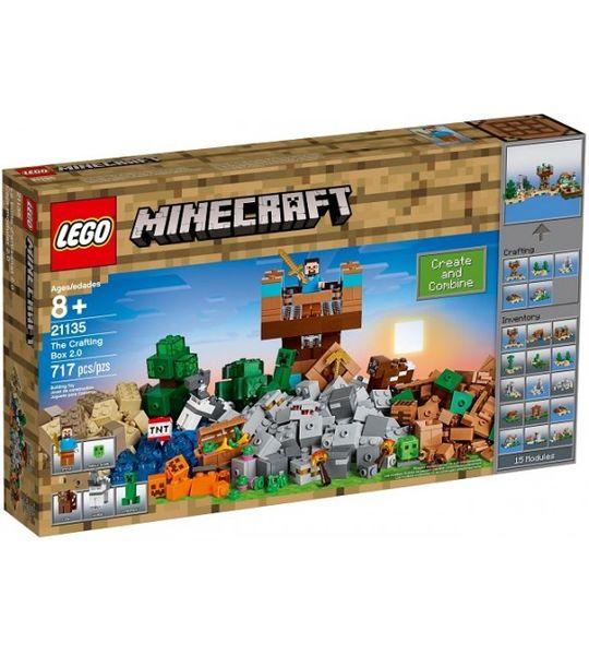LEGO MINECRAFT 21135 Kreatywny Warsztat 2.0 zdjęcie 1